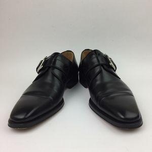 MAGNANNI Marco Plain Toe Monk Shoe sz 7